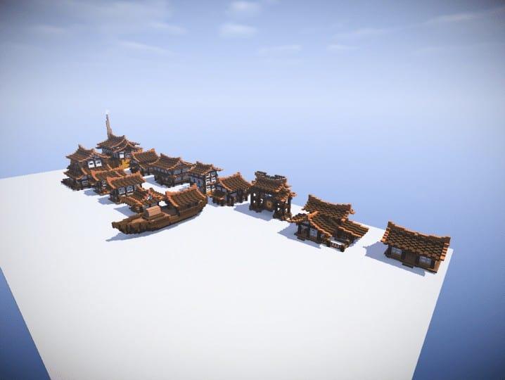 Japan Houses Bundle – Minecraft Building Inc on small boats mod minecraft, small minecraft village, small minecraft ship plans, small minecraft yacht tutorial,