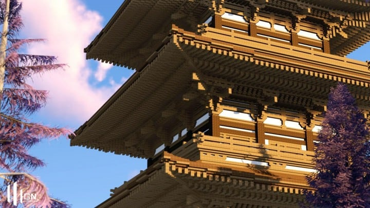 Download Japanese Three Storied Pagoda