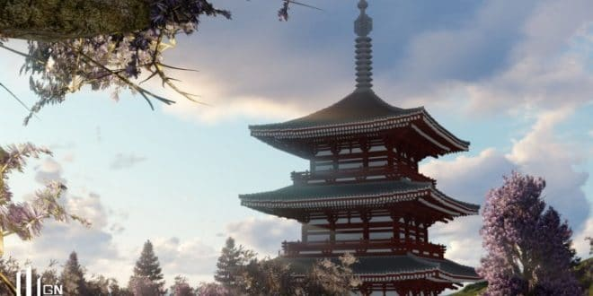 japanese three storied pagoda minecraft building inc