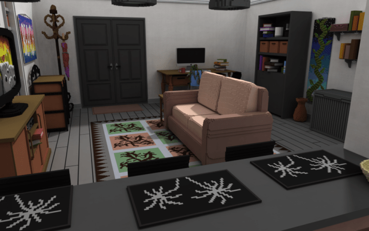 Modern Living Room Minecraft minecraft room ideas. simple beautiful bedroom designer game