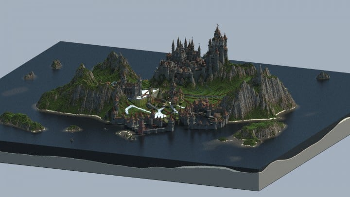 Medieval Island - Minecraft Building Inc
