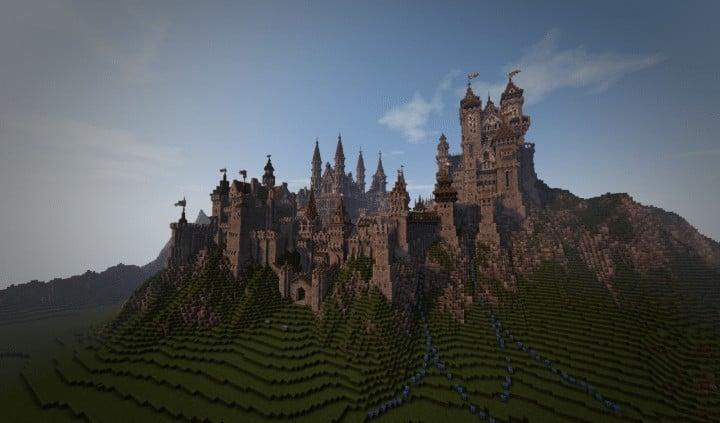 Medieval Island Minecraft Building Inc