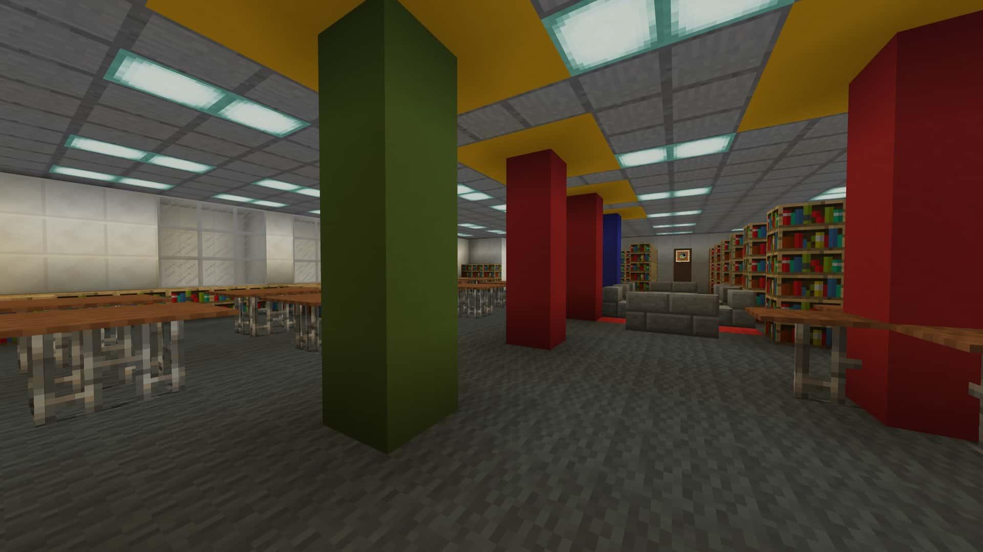 Orefield Middle School Minecraft Building Inc