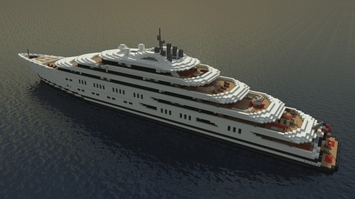 Project Collateral Yacht Minecraft Building Inc