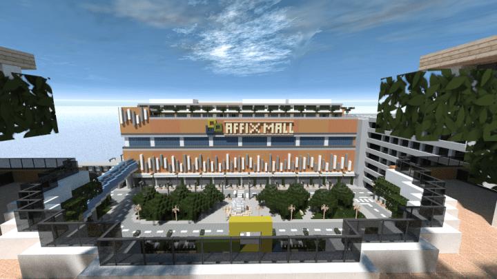 Modern Mall Minecraft Building Inc