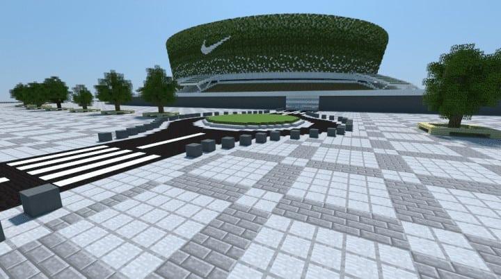 Nike Arena Stadium Minecraft Building Inc