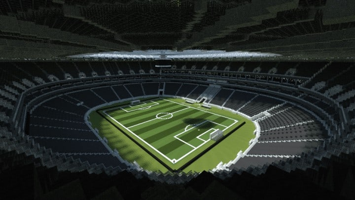 Nike Arena Stadium Minecraft Building Inc