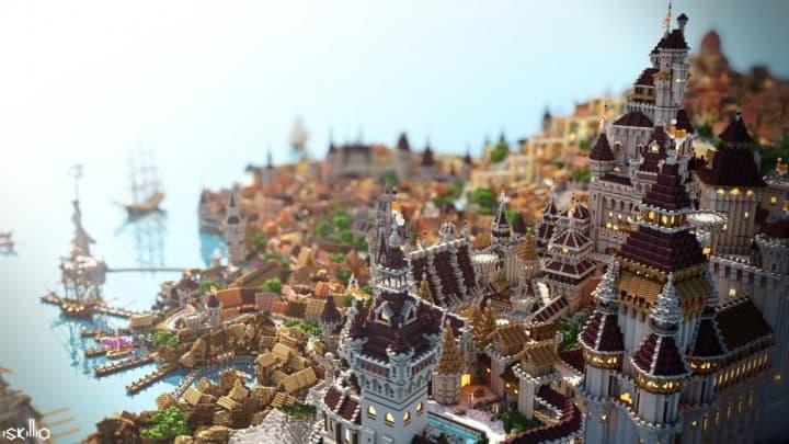 Novigrad Timelapse And Download Minecraft Building Inc