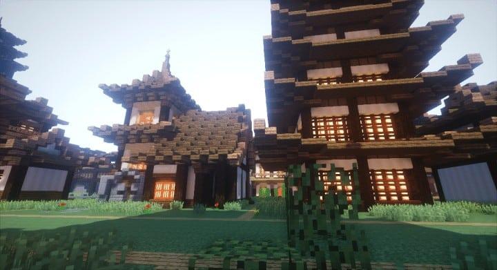 Oriental Build Pack Minecraft Building Inc
