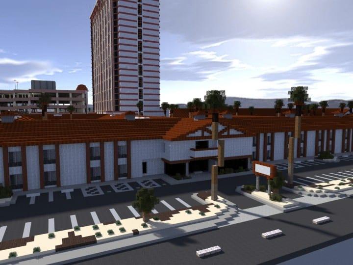 Palace Station Casino Las Vegas Minecraft Building Inc