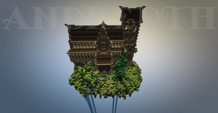 phaendar-medieval-church-island-minecraft-build-floating-2