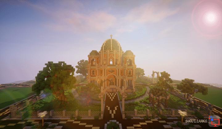 Plotworld Spawn Minecraft Cinematic Minecraft Building Inc - Minecraft spielerkopfe