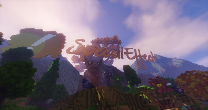Special Effect Wonderland castle amzing beautiful download minecraft building ideas save 8