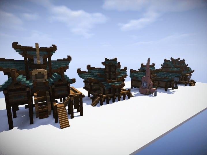 Minecraft Modern Houses