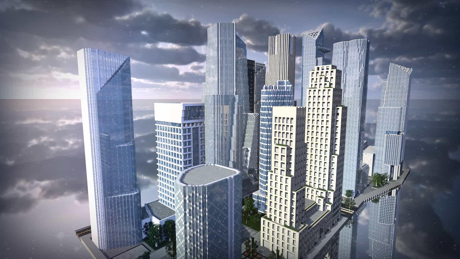 The Hudson Yards Minecraft Building Inc