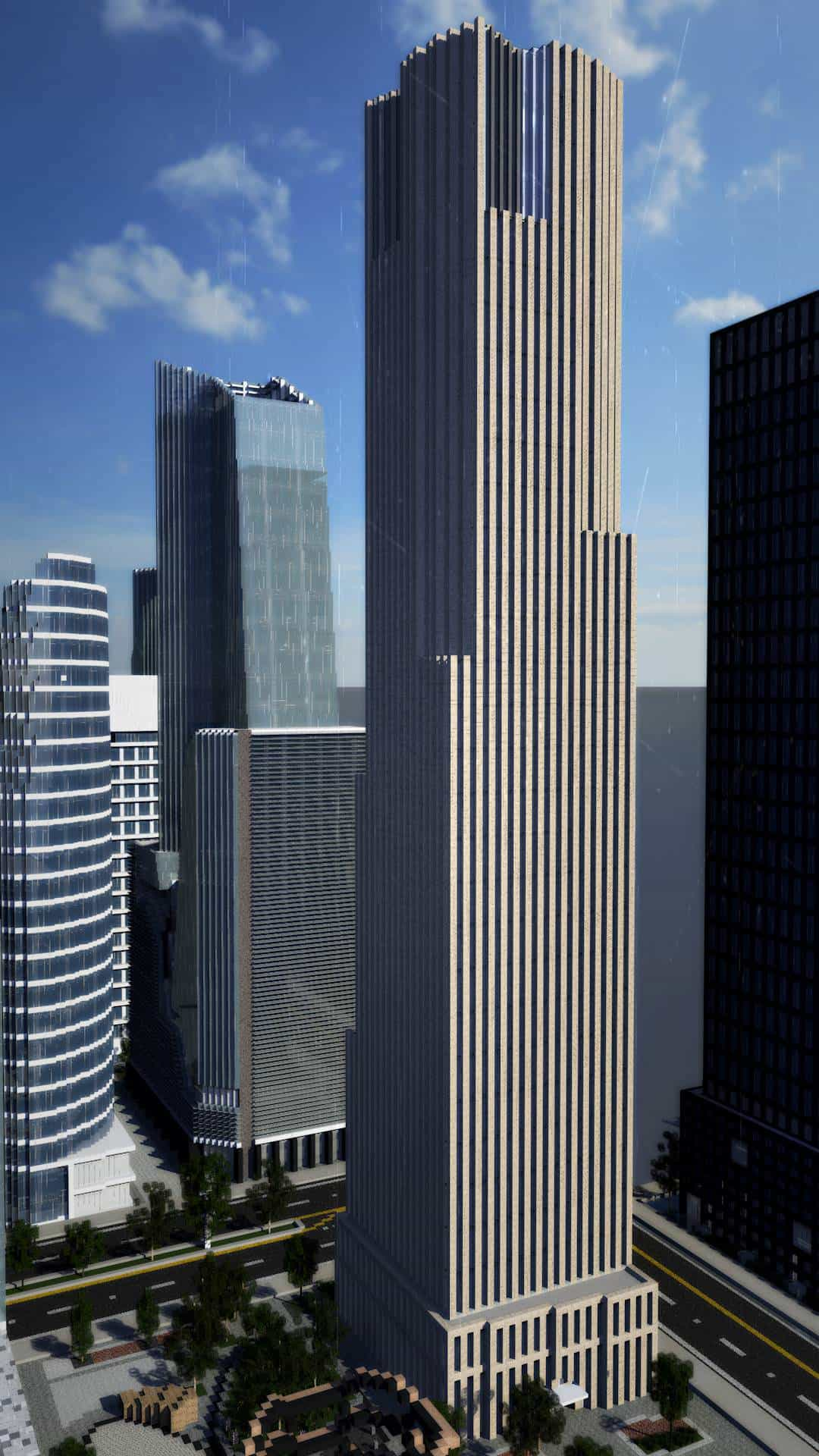 The Hudson Yards Minecraft Building Inc