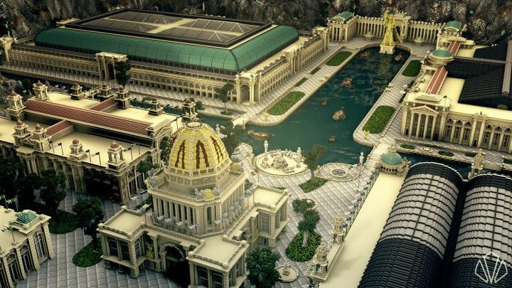 How Much To Build A Pool >> The Inner City| A Recreation of The 1893 Chicago World's ...