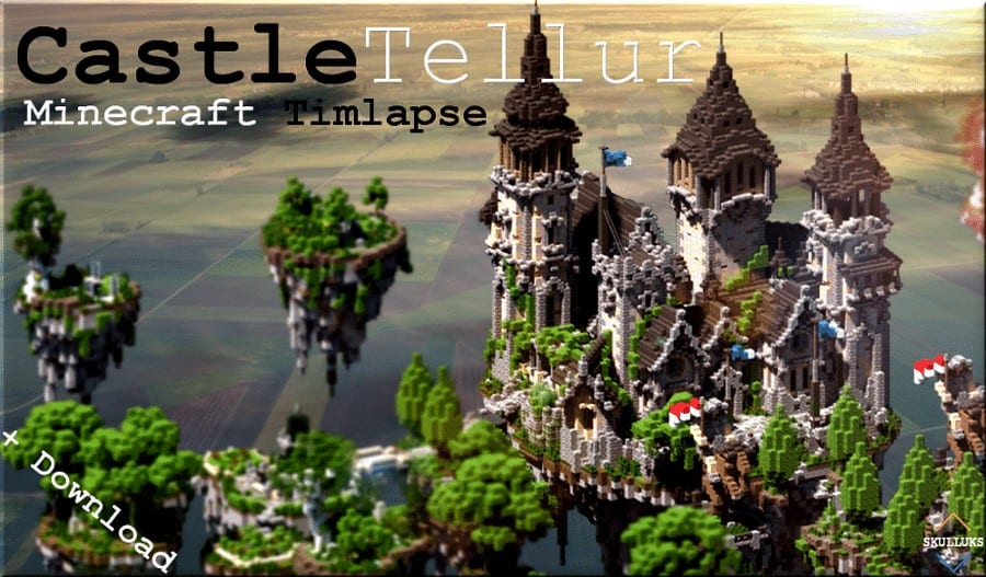 Photo of Minecraft Timlapse, Speed Build | Epic Castle | Tellur