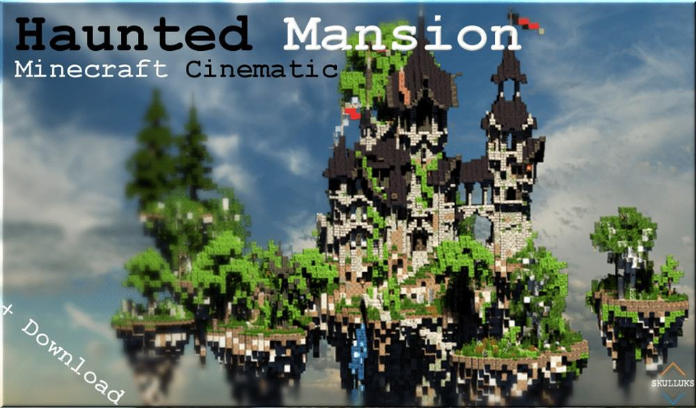 Photo of Minecraft Cinematic | Haunted Mansion | The Storm cliff