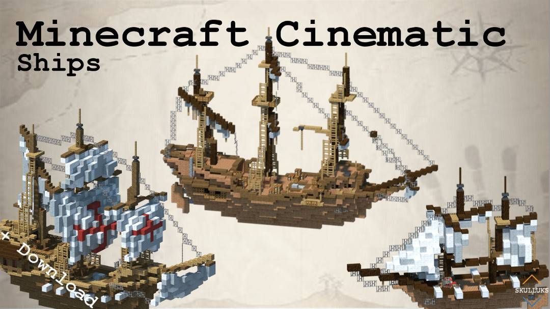 Photo of Minecraft Cinematic | Epic Medieval Ships