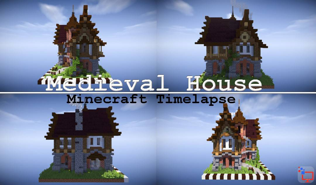 Mediveal Minecraft House | Timelapse Speed Build | +Free Map