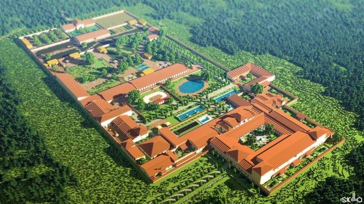 Villa Gallo Romaine Andilly En Bassigny Minecraft Building Inc