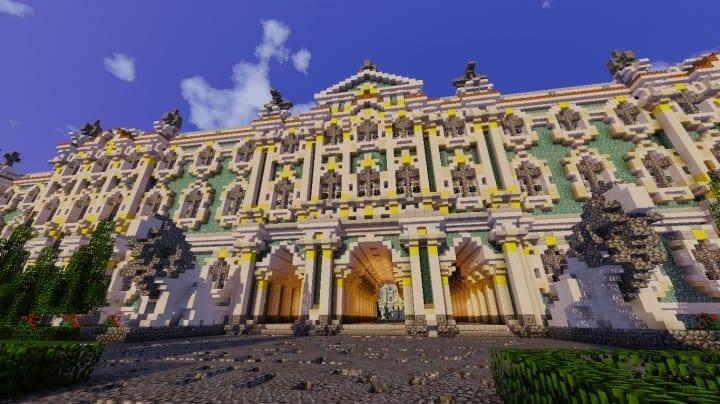 Winter Palace | Hermitage – Minecraft Building Inc