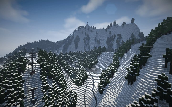 working ski resort 3 0  u2013 minecraft building inc