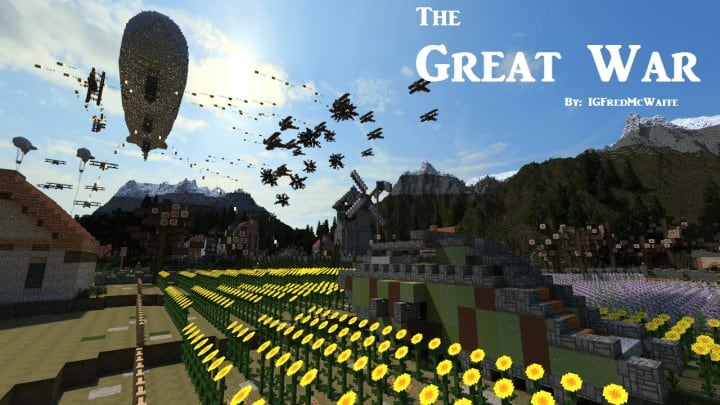 The Great War | Battlefield 1 Inspired Map – Minecraft ...