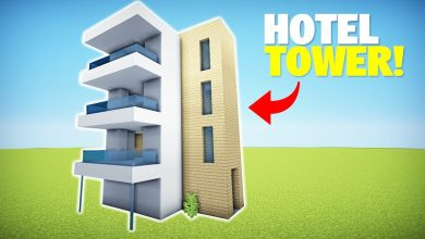 Photo of Minecraft: How to Build a Modern Hotel/Apartment Tower – Easy House Tutorial