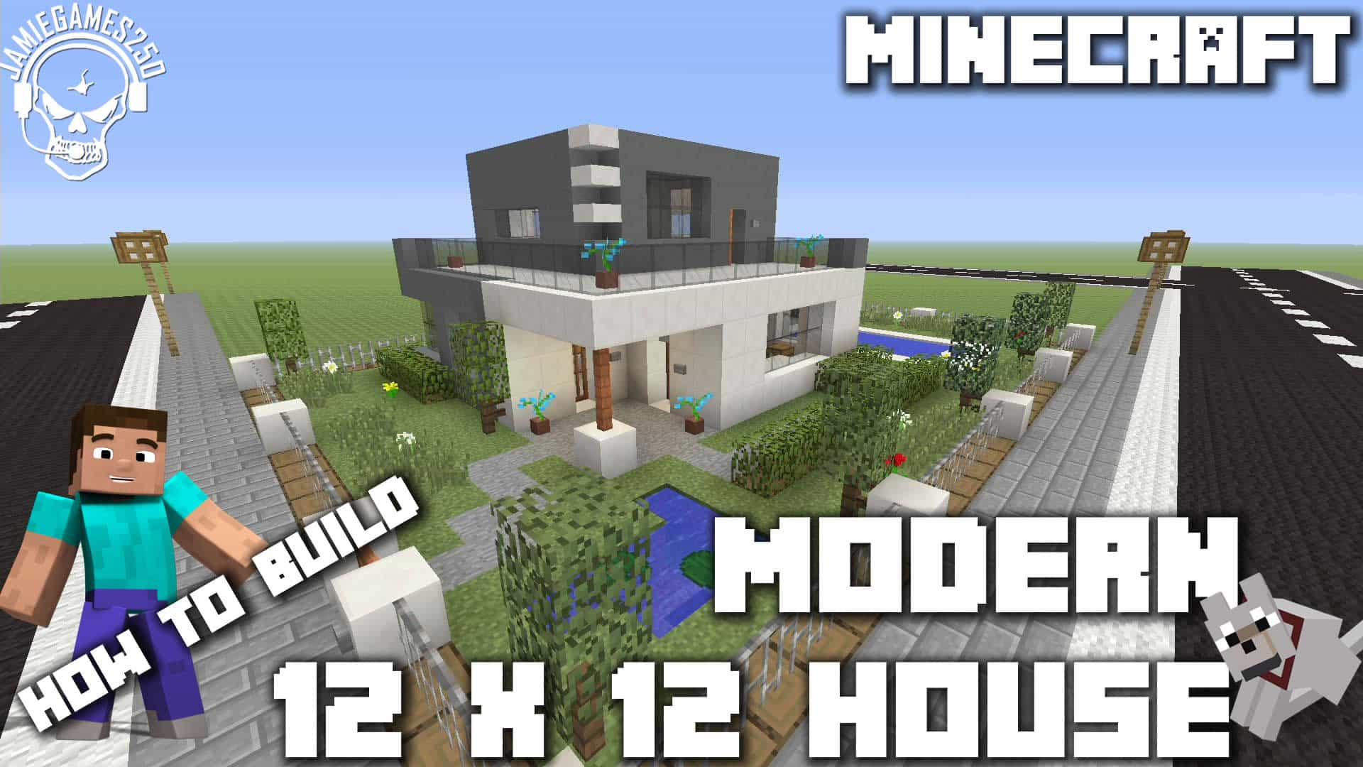 Photo of Minecraft: How to make a modern 12 x 12 house xbox one