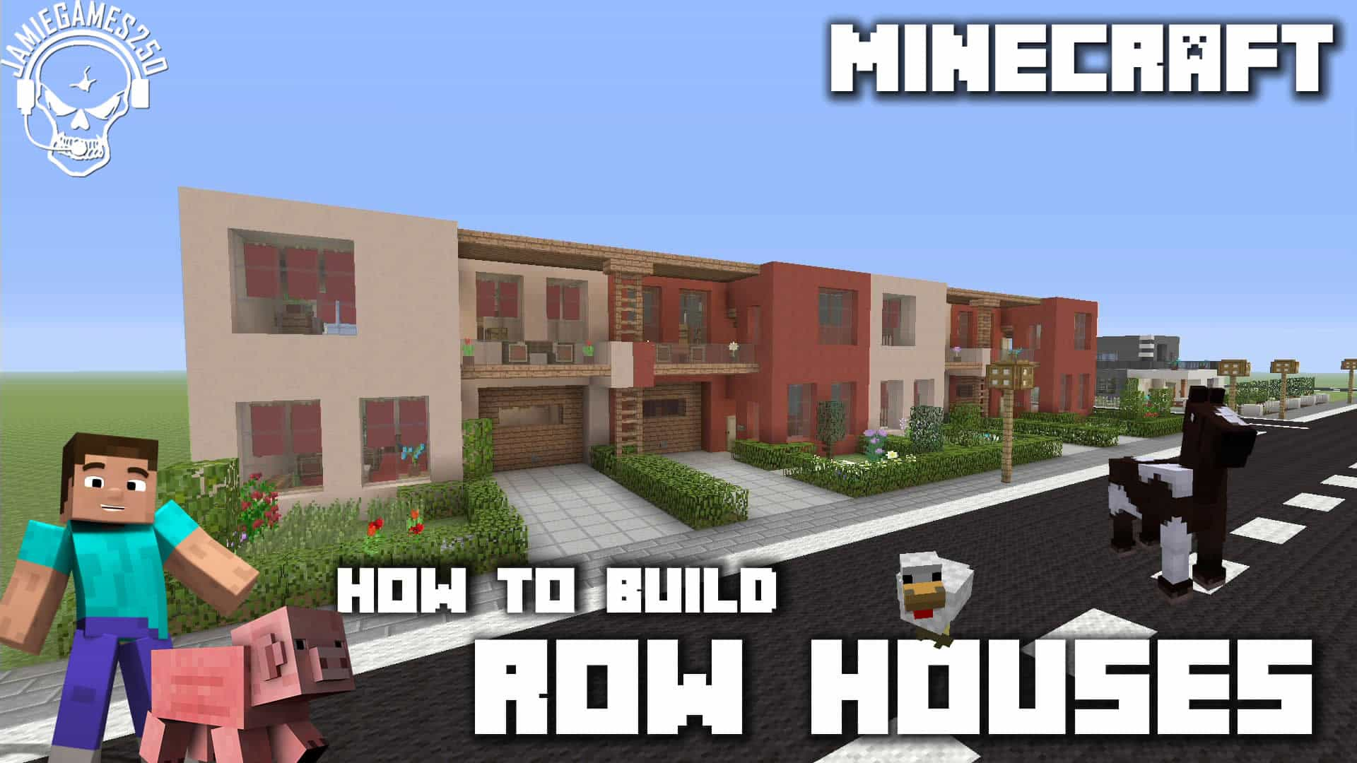 Photo of Minecraft: How to make Row Houses xbox one