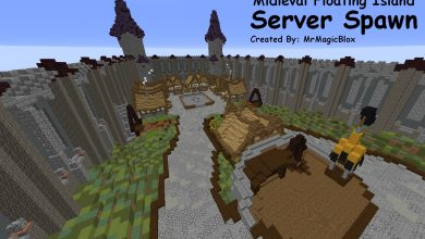 Photo of Floating Island Server Spawn w/ Survival World